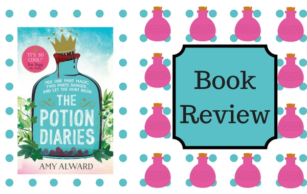 Book review – The Potion Diaries by Amy Alward