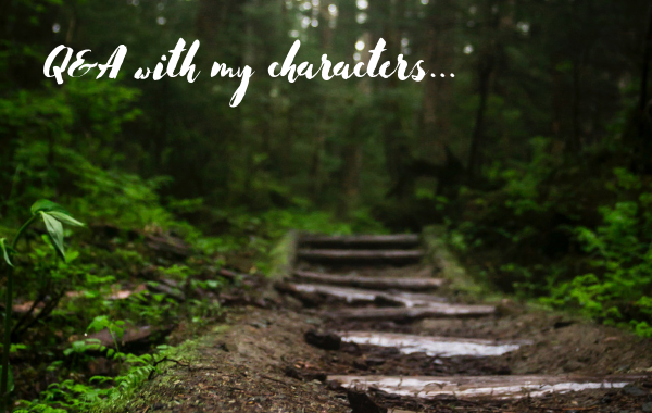 Q&A with my characters – part 2